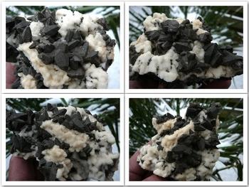 Almost black calcite