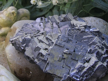 Galena with Pyrite