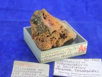Stephanite and Pyragyrite