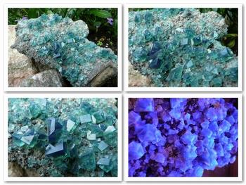 Fluorite (green / blue) - Weardale