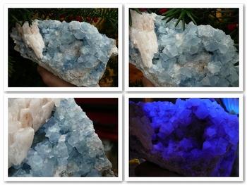 Fluorite (light blue) - Bingham.