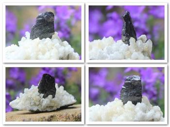 Lustrous black Wolframite