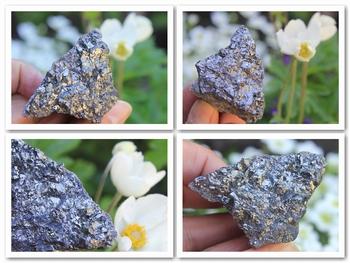 Dark steel gray-blue Stromeyerite