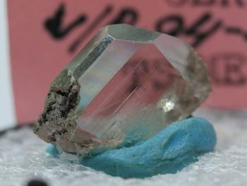 Crystal clear cerrusite crystal