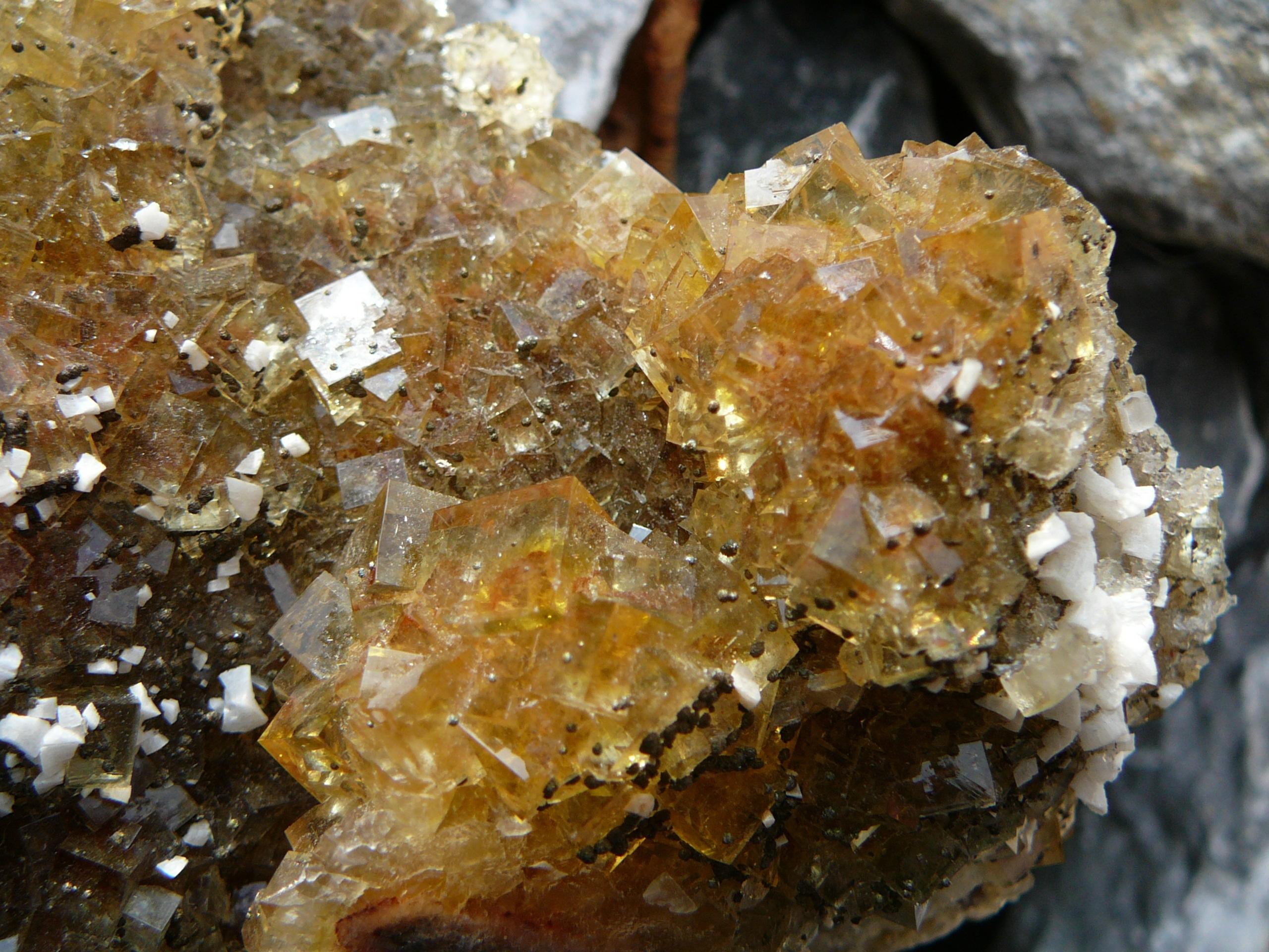 Fluorite (yellow) - Villabona