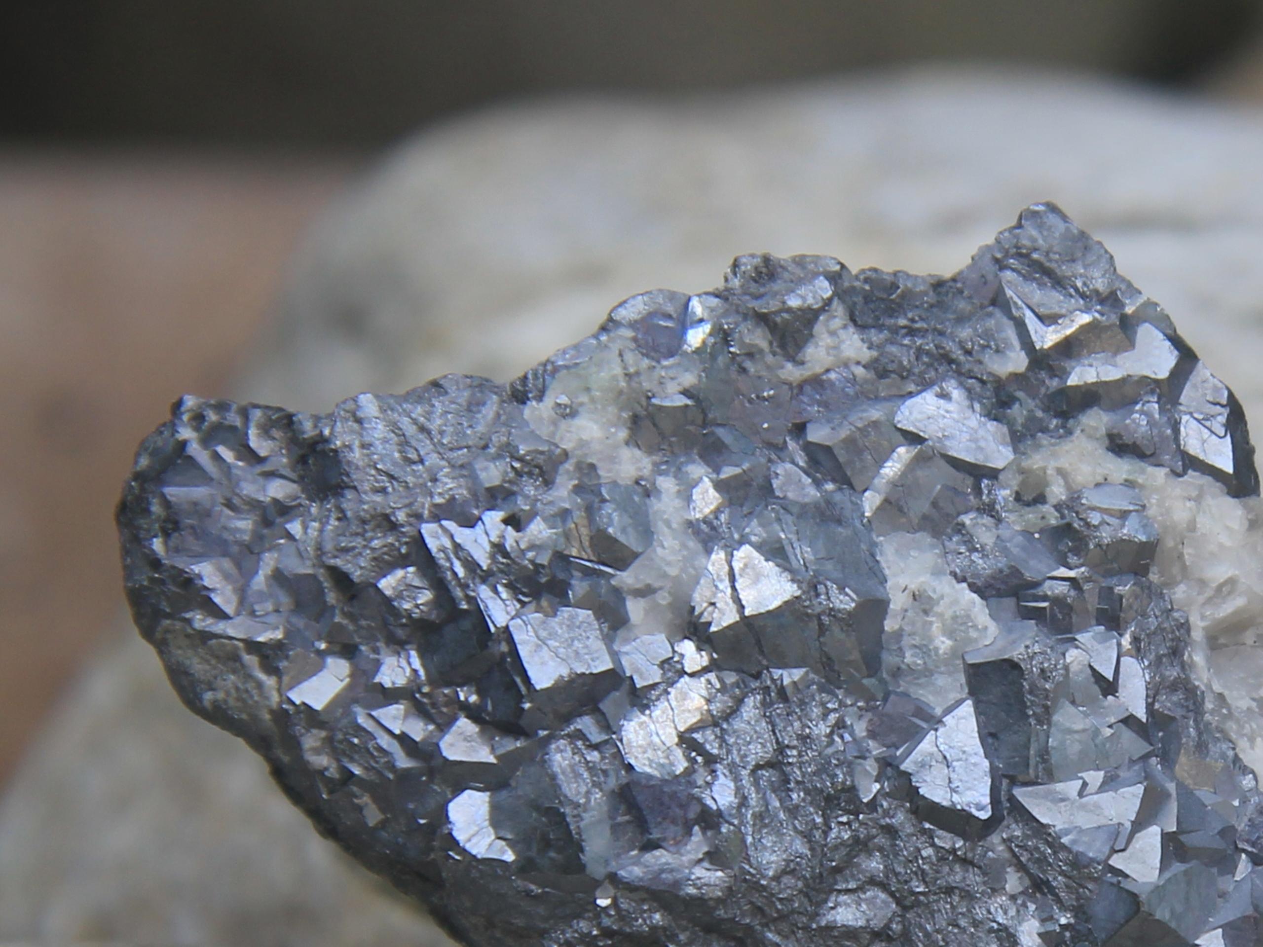 Skutterudite crystals