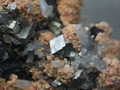 Arsenopyrite, sphalerite, rhodochrosite and quartz