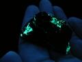 Fluorescent schrokingerite