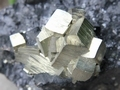 Pyrite with Sphalerite