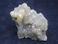 Beige and light yellow fluorite