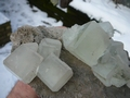 Fluorite (icy green)